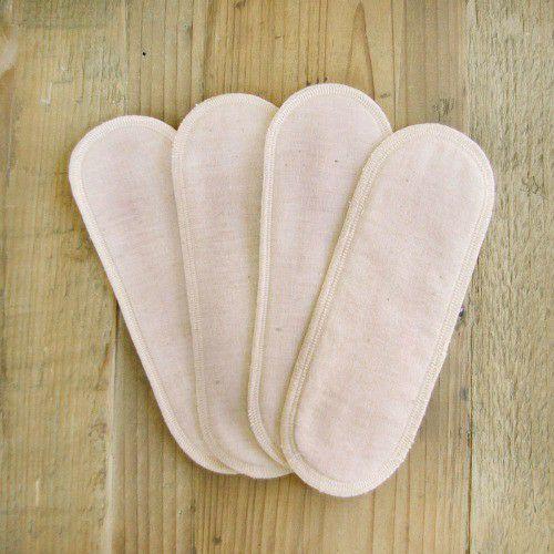 布ナプキン 用パッド4枚セット 茶