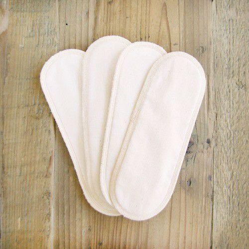 布ナプキン 用パッド4枚セット きなり